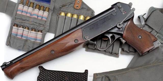 Loại súng này được thiết kế với 3 nòng: 1 nòng trên và 2 nòng dưới