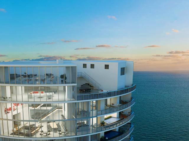 Tất cả các căn hộ đều có view nhìn ra bờ biển thơ mộng