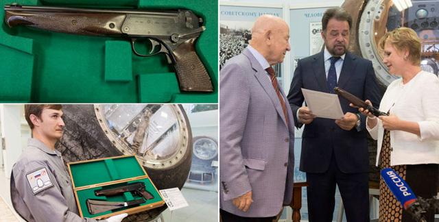 Những mẫu súng từ các tàu không gian được sử dụng trong thế kỷ 20