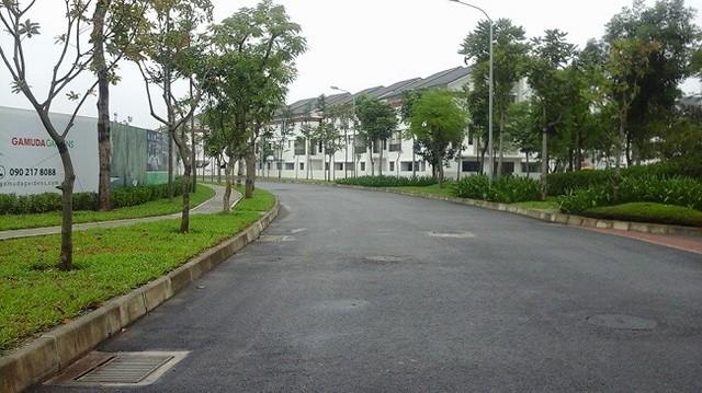 Một góc khu đô thị Gamuda Garden