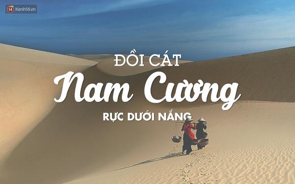 Đây là một trong những điểm đến đầy hoang dã của Ninh Thuận. Khuyến cáo là đừng nên đi đến đây vào trưa nắng nhé, vì cát sẽ rất nóng. Chỉ nên đến vào buổi chiều và tốt nhất là khi sắp hoàng hôn, bởi trải nghiệm ngắm mặt trời lặn trên đồi cát cực kỳ thú vị.