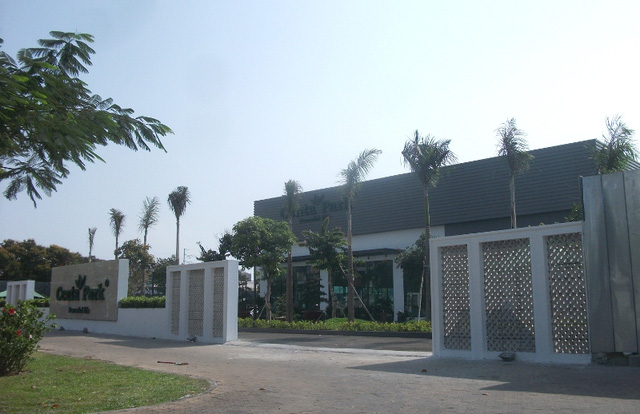 Một dự án mới toanh trên đường Đồng Đen của Thanh Niên Corp.