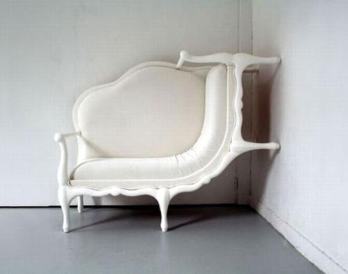 Sofa với đường cong vô cùng mềm mại.