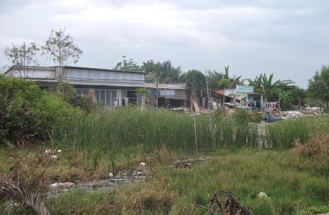 Cuộc sống bên những đầm lầy hôi thối, rất dễ sinh bệnh. Tiếp xúc nhiều người dân, được biết giờ họ phải chấp nhận như vậy vì không biết pải đi đâu, tiền đền bù vẫn chưa chi trả thỏa đáng.