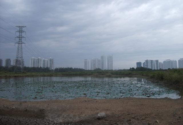 Theo nhiệm vụ quy hoạch, Khu dân cư có tổng diện tích 906.501,3 m2, trong đó, đất đơn vị ở có tổng diện tích 813.128,5 m2 bao gồm: Đất nhóm nhà ở có diện tích 445.269,3 m2 với nhà ở cao tầng 160.248 m2 và nhà ở thấp tầng 285.021,3 m2; Đất công trình dịch vụ công cộng có diện tích 51.346,6 m2; Đất cây xanh có diện tích 99.291,8 m2; Đất giao thông có diện tích 217.220,8 m2.