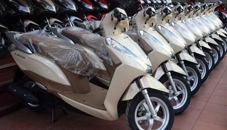 Những mẫu xe tay ga cao cấp xuất khẩu sang Thái Lan, Indonesia có giá rẻ hơn bán trong nước.
