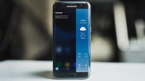 Galaxy S7 edge là sản phẩm duy nhất nhận tác động từ bản cập nhật khẩn cấp này của Samsung