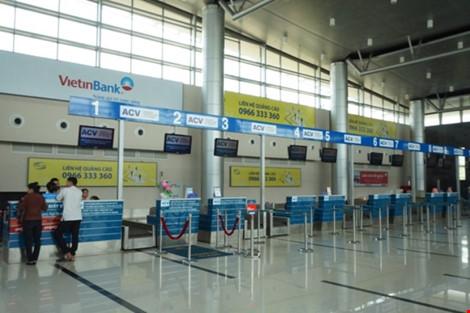 Cửa làm thủ tục bay tại Cảng hàng không Buôn Ma Thuột vắng hoe vì sự cố