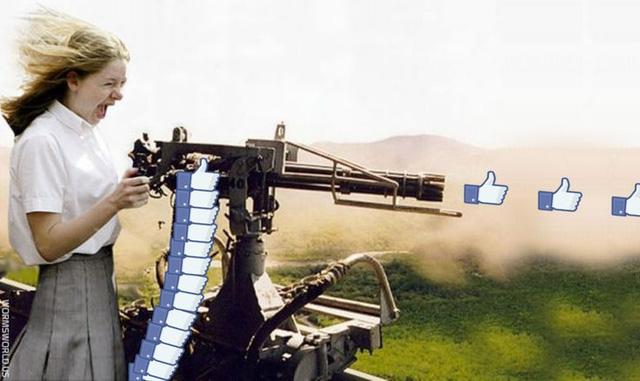 Có lẽ trong tương lai, sẽ không còn tình trạng like như súng bắn thế này nữa.
