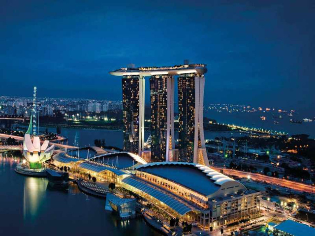 Marina Bay Sands tại Singapore