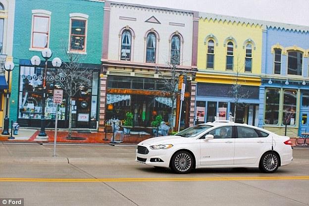 Ford thử nghiệm ô tô tự lái tại Michigan