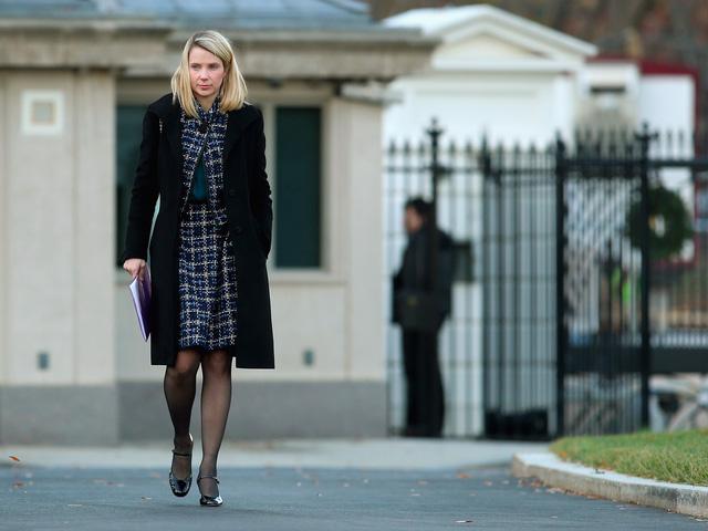 CEO Marissa Mayer của Yahoo cũng là một nhân viên cũ của Google.