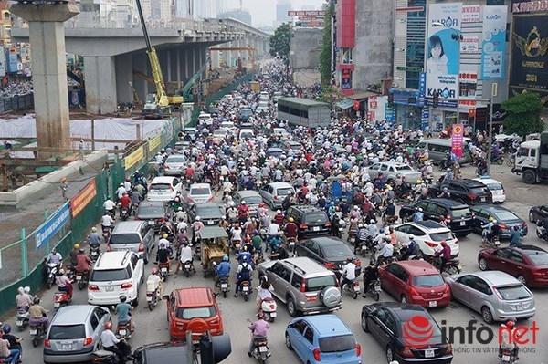 Hà Nội đang lên kế hoạch sẽ cấm hẳn xe máy vào năm 2025.