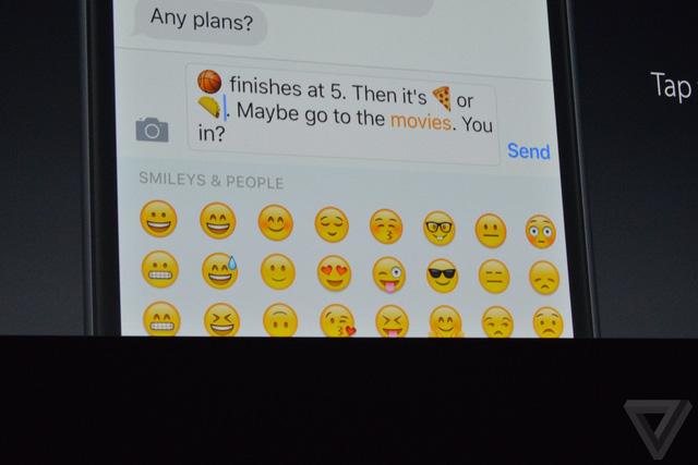 Thỏa mãn cơn nghiện emoji ở mức độ nhanh/tiện dụng tăng đáng kể so với trước đây.