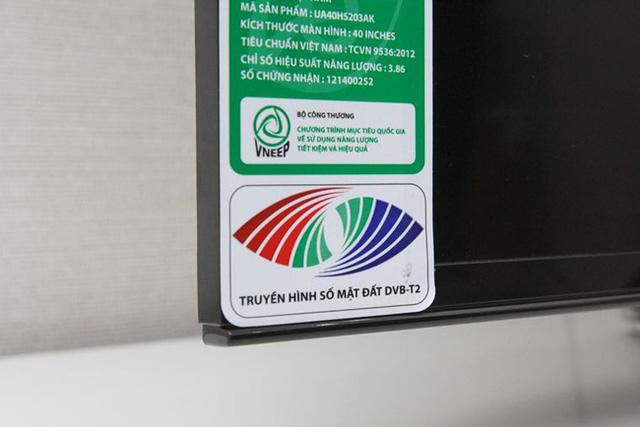TV từ năm 2014 trở về sau này đều được trang bị chuẩn DVB-T2.