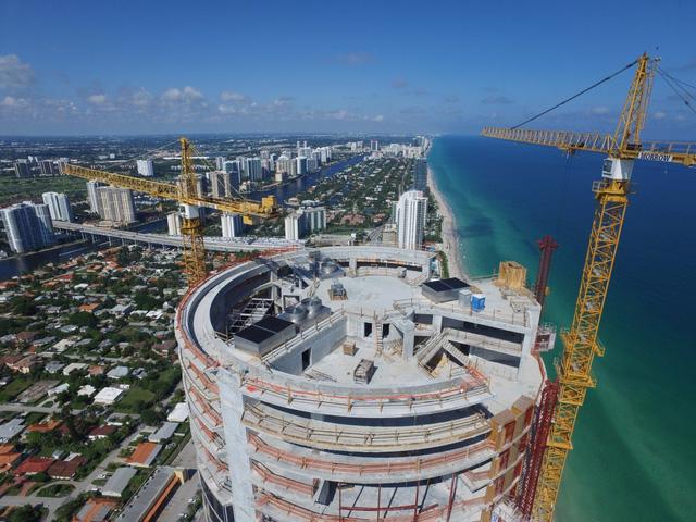 Dự kiến, tòa nhà này sẽ hoàn thành vào tháng 6/2016