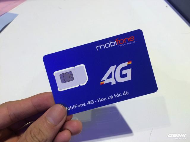 Sim 4G mới của MobiFone.