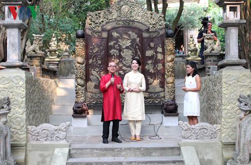 Vợ chồng họa sĩ Thành Chương- Ngô Hương, những chủ nhân của Việt Phủ