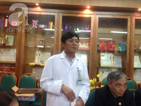 Ông Nguyễn Việt Hùng thừa nhận sai sót trong xử lý rác thải y tế tại bệnh viện.