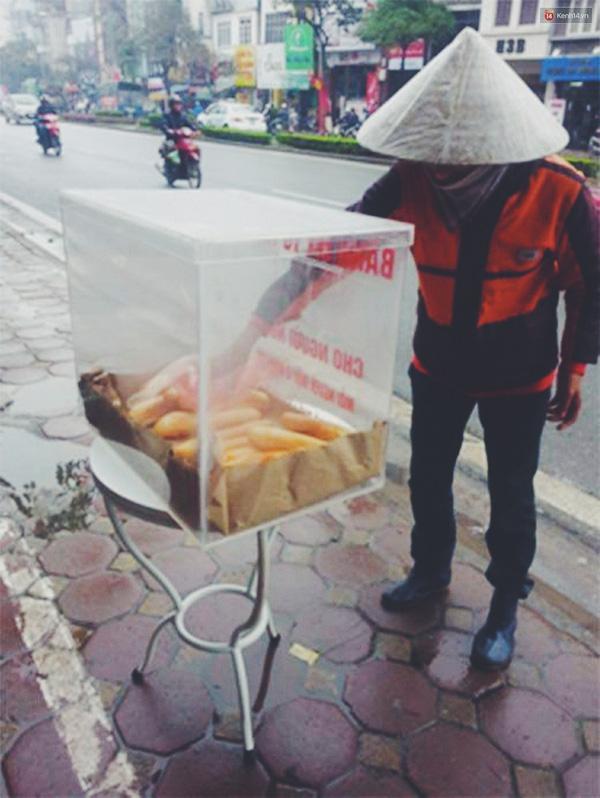Những chiếc bánh mỳ thơm, ngon này đặc biệt dành cho những người nghèo, vô gia cư.