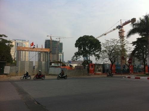 Ngã Tư Hàm Nghi - Nguyễn Cơ Thạch nơi dự án tọa lạc
