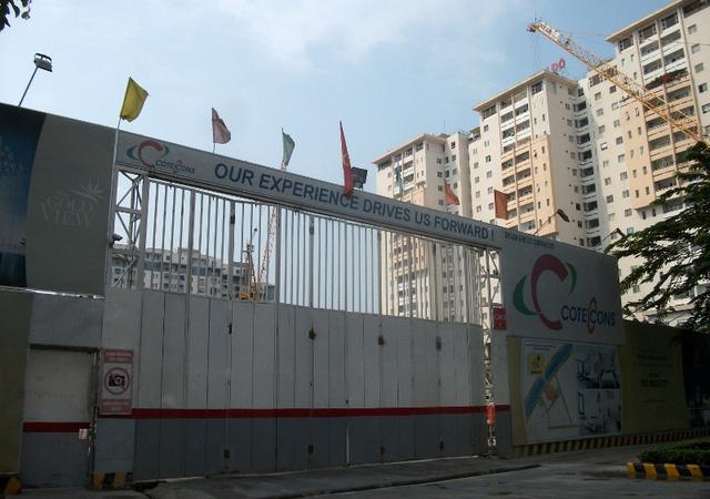 Dự án của TNR Holdings đang được triển khai xây dựng.