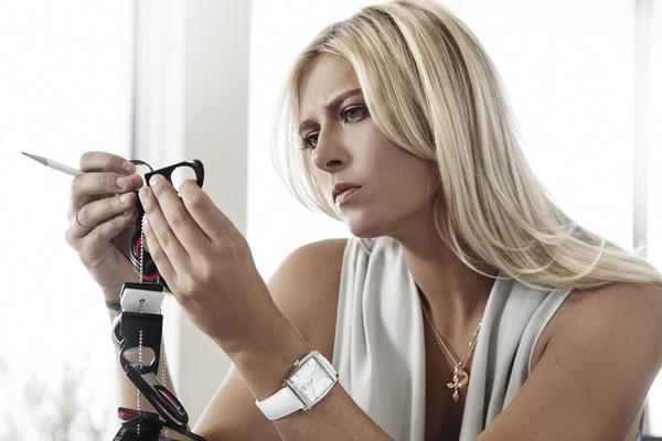 Sharapova còn là gương mặt đại diện của hãng đồng hò TAG Heuer và một loạt thương hiệu khác.