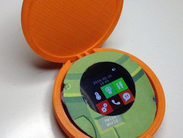 Mô hình chiếc điện thoại Cyrcle.