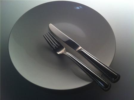 Dấu hiệu ám chỉ người ăn đã dùng xong bữa của người Mỹ