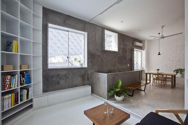 Toàn bộ nội thất trong nhà cũng hết sức đơn giản nhưng vô cùng tinh tế.