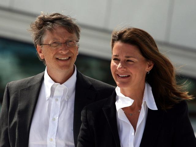 Vợ chồng Bill Gates.