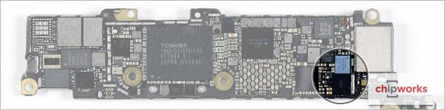 Chip điều khiển màn hình cảm ứng.