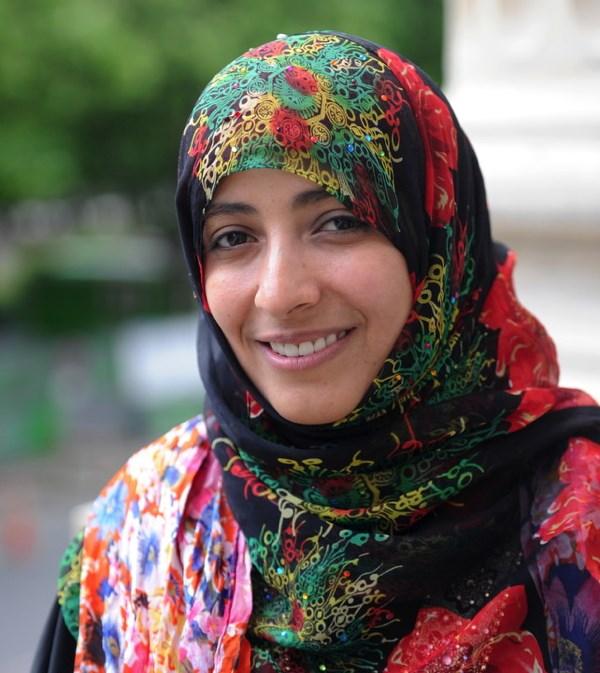 Nữ chính trị gia người Yemen Tawakkol Karman.