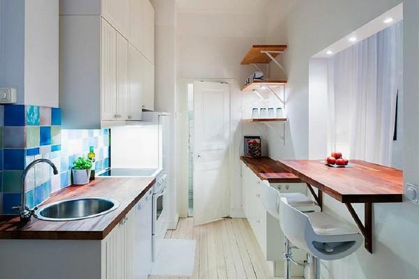 Việc giữ một không gian sống sạch sẽ và tối giản giúp tạo ảo giác rộng hơn diện tích thực của nó.