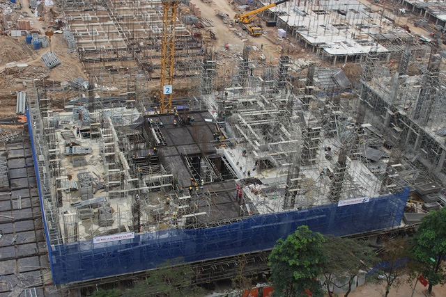 Hiện tại, các căn chung cư tại đây có giá bán từ 31-33 triệu đồng/m2