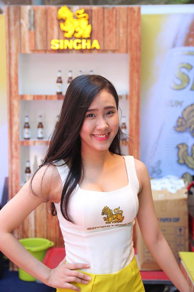 Bia Sinha Thái Lan tại hội chợ