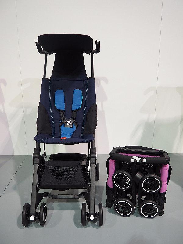 Nếu muốn mang theo xe đẩy của bé lên oto hoặc máy bay mà không phải tháo dỡ lằng nhằng, hãy sử dụng Pockit stroller. Xe đẩy này có thể được xếp gọn lại như một chiếc balo và nặng chỉ có 4kg.