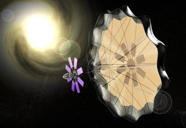 Hình ảnh về cánh buồm mặt trời