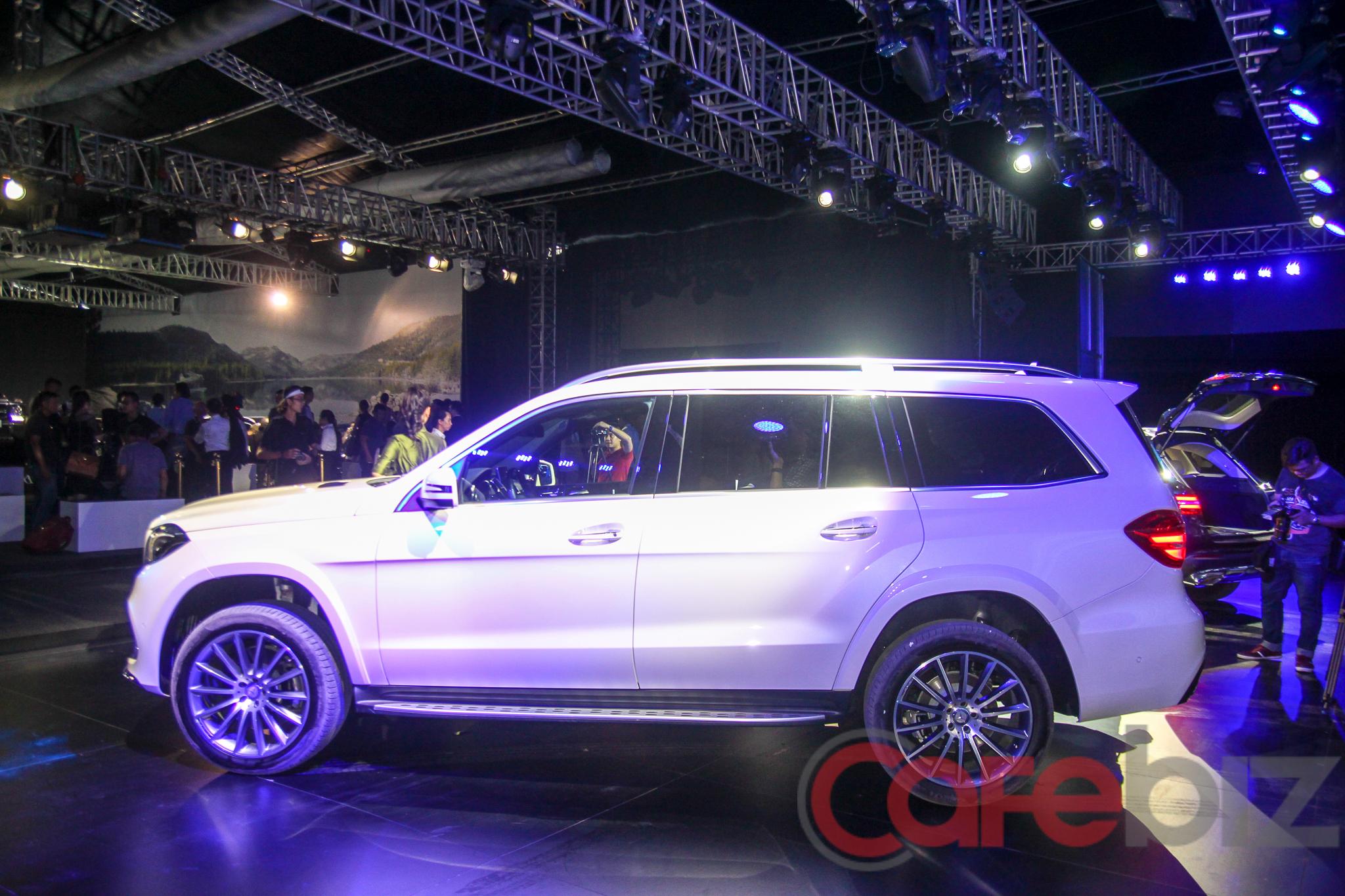 Được mệnh danh là S Class của SUV, GLS có chiều dài xe tới 5.130 mm.