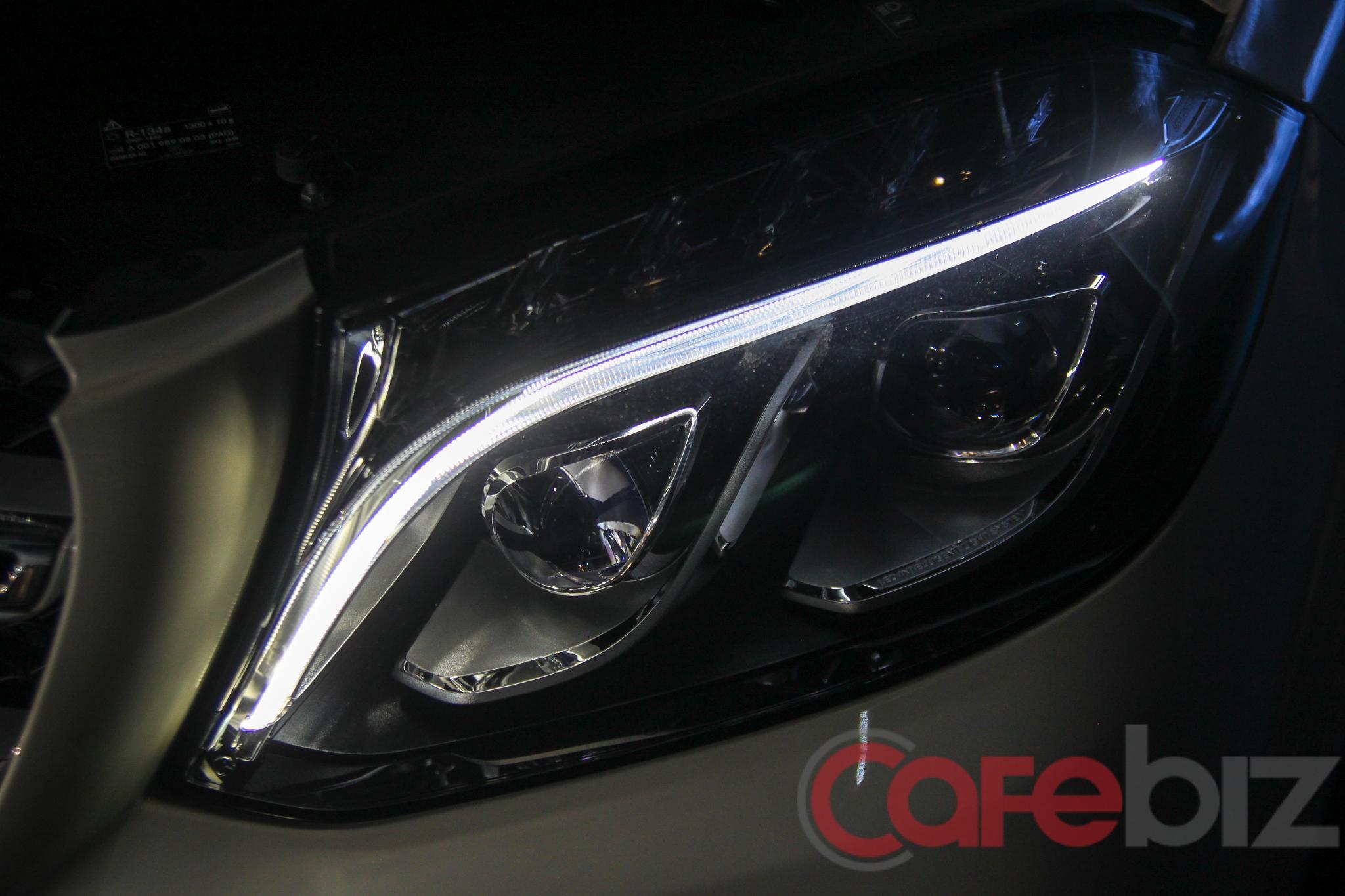 Bộ đèn chiếu sáng LED được sử dụng trên GLS 500 và GLS 63.