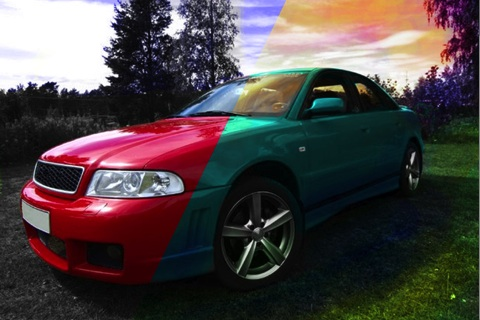 Color Effect cho phép bạn thay đổi các màu trong hình một cách nhanh chóng.