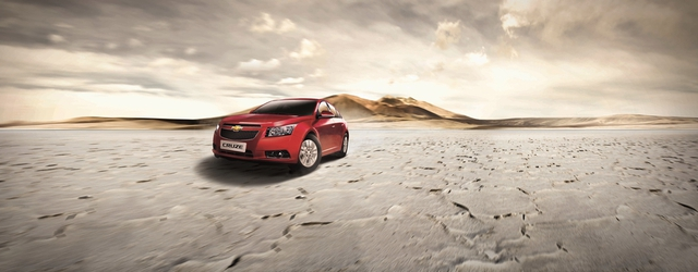 GM Chevrolet - Cruze - Chevrolet Cruze Desert Layer Out Put