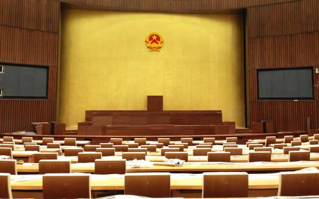 Phòng họp chính của toà nhà với sức chứa khoảng 600 chỗ ngồi.</p></div><div></div></div><p></p><p>