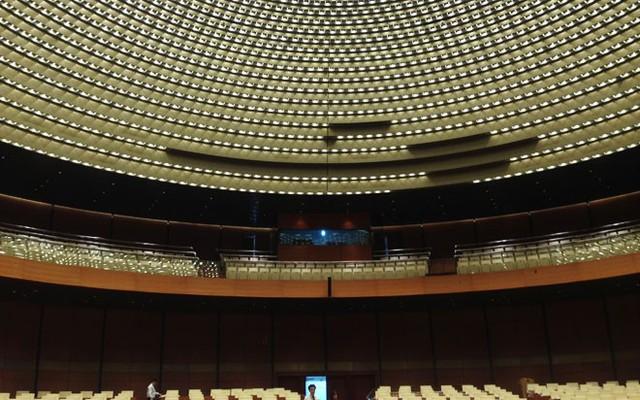 Riêng tầng 2 của phòng họp chính có 300 chỗ ngồi cho các đại biểu.</p></div><div></div></div><p></p><p>