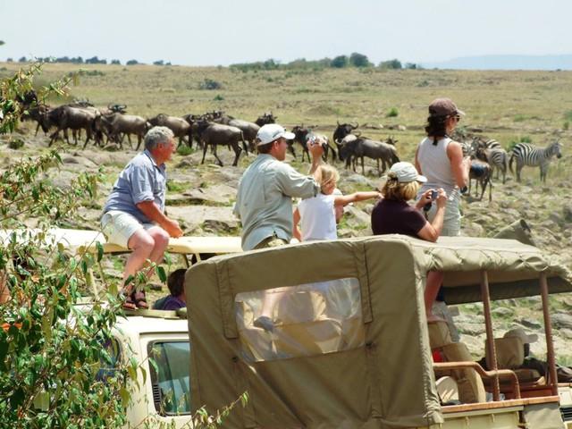 Du lịch hoang dã ở Châu Phi