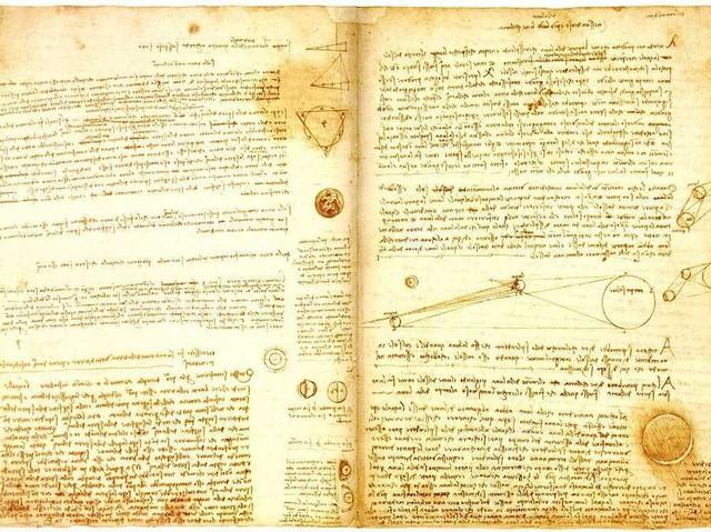 Bản viết tay Codex Leicester.