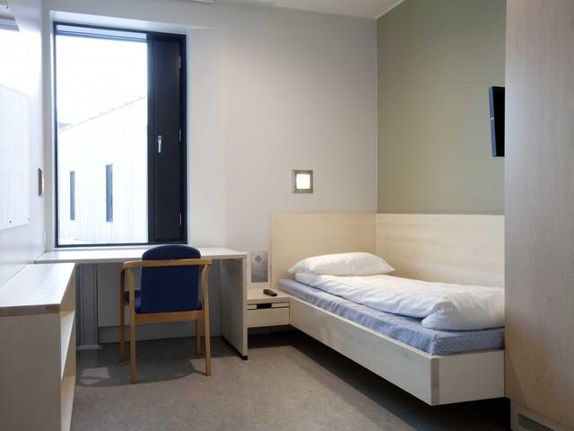 Phòng giam trông không khác gì khách sạn
