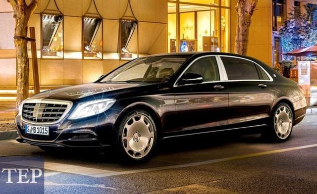 10/50 chiếc Mercedes-Maybach S600 trên toàn cầu là dành cho giới siêu giàu Việt - Ảnh: Courtesy Mercedes Vietnam Star Hà Nội.