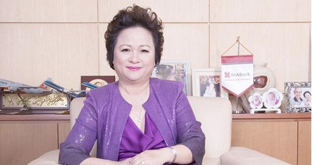 Bà Nguyễn Thị Nga sinh năm 1955, tham gia lãnh đạo Seabank từ năm 2007 đến nay.