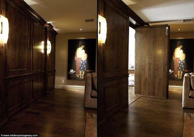 Căn phòng bí mật vẫn được trang bị hệ thống ánh sáng như bình thường.